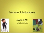 fracture and dislocation ppt . Alma...