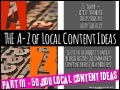 The A-Z of Local Content. A Toolkit to guide you to create socially compelling local content
