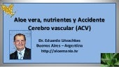 Aloe vera y Accidente cerebrovascular