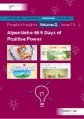 Alpenliebe 365 Days of Positive Power: People's Insights Volume 2, Issue 13