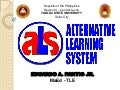 Alternative Learning System in the Philippines