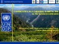 Altai Sayan Ecoregion: Connectivity in a changing climate (UNDP presentation)