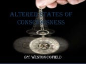 Altered states of consciousness- Hy...