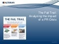 The Fail Trail: Analyzing the impact of a PR Crisis