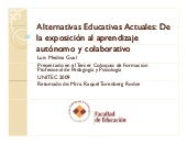 Alternativas Educativas Actuales
