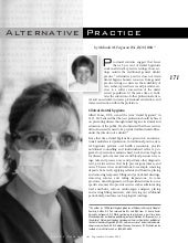 Alternative Dental Hygiene Practice