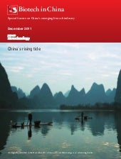China's Rising Tide - Nature Biotech