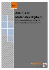 Análisis de Materiales Digitales