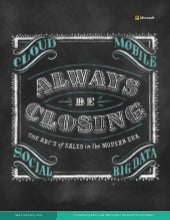 Always be Closing - The ABC's of Modern Sales