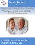 Alzheimer's disease patients & market worldwide, future scenario (2010 – 2015) & drugs analysis