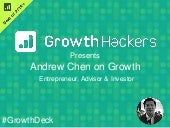 Andrew Chen AMA on Growth Hacking