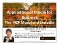 AMA Madison | The Social Media Academy's NCP Model and LinkedIn