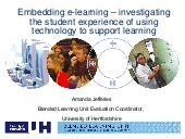 Embedding e-learning – investigatin...