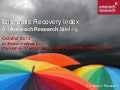 Amarach Economic Recovery Index October 2012
