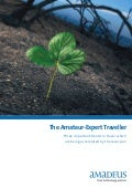 Amateur-Expert Ametuer Travellers: Three developing trends to shape travel management