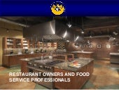 AMBCC Restaurant Owners and Food Se...