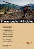 The Ambedkar Principles
