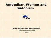 Ambedkar,Women movement And Buddhism