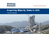 Ambuja Cements Ltd. video