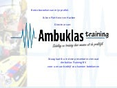 Ambuklas Training 27062012