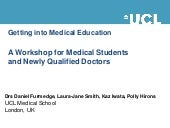 Getting into medical education as ...
