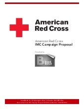 Master's thesis: American Red Cross...