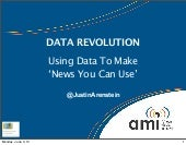 WAN-IFRA World Newspaper Congress 2013 (Bangkok) Data Journalism Strategy Masterclass