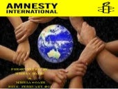 Amnesty international home work