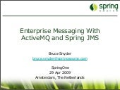Enterprise Messaging With ActiveMQ ...