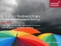 Amárach Economic Recovery Index April 2013