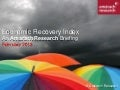Amárach Economic Recovery Index February 2013