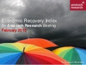 Amárach Economic Recovery Index February 2015
