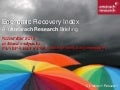 Amárach Economic Recovery Index November 2012