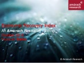 Amárach Economic Recovery Index October 2015