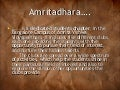 Amritadhara - Issues, Challenges, and a Solution