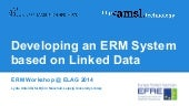 Developing an ERM System based on L...
