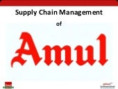Supply Chain Management of Amul (Supply Chain Management)