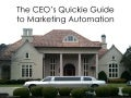 The CEO's Quickie Guide to Marketing Automation - An Allinio Presentation