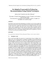 An Adaptive Framework for Enhancing...