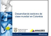 Analdex sectoresclasemundial 201007...