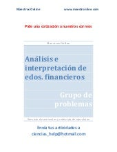 Analisis e interpretacion de estado...
