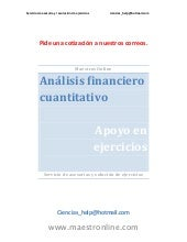 Analisis financiero cuantitativo