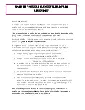 Analisisis 10 ideas clave evaluar p...
