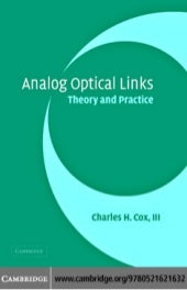 Analog optical link