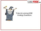 Analogy in GRE