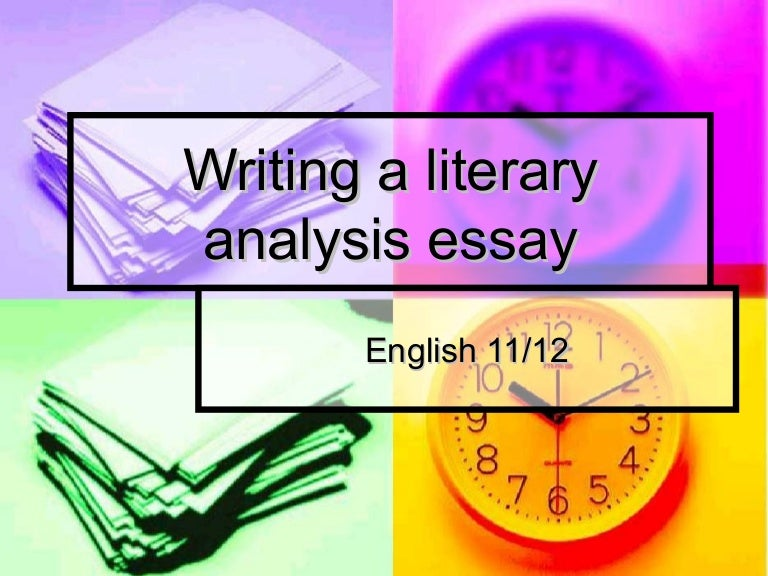 Which topic should i pick for an analyzing essay?