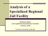Analysis of a specialized regional ...
