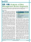 Analysis of Risk Management Across Segments