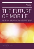 Futur of Mobile - by Analysis Mason