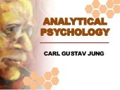 Analytical psychology Theories of Personality Carl Jung